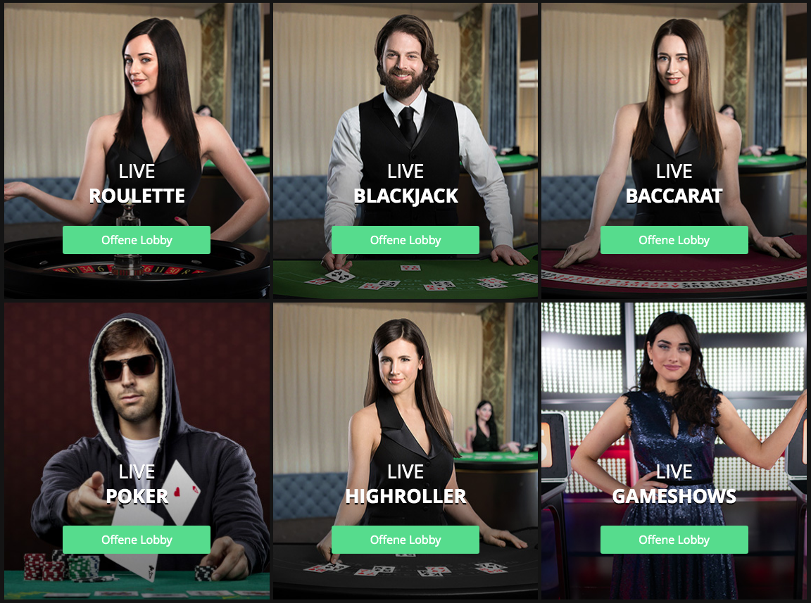 Live Casino bei One Casino